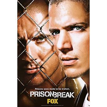 Prison Break - Single-Sided Original Tv Poster