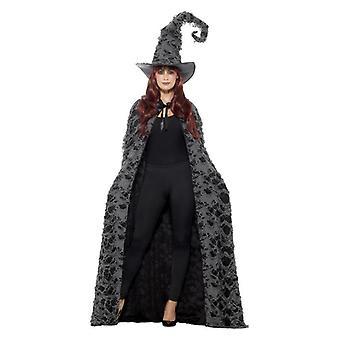 Mujeres lujo Spellcaster cabo Halloween disfraces accesorios