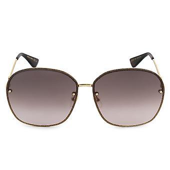 Gucci Oval Sunglasses GG0228S 003 63