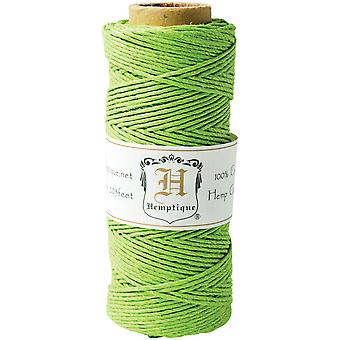 Hemp Cord Spool 20# 205' Pkg Lime Green Hs20 Lmgrn