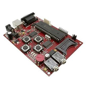 PIC USB starterkit prototype board for PIC18F4550 microcontroller with USB Olimex PIC-USB-STK