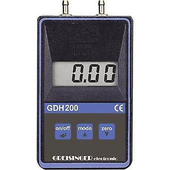 Greisinger GDH 200-07 Digital fin Manometer