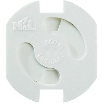 Safety socket covers White Heidemann 43180