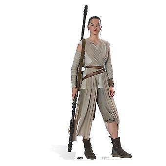 Rey Star Wars The Force Awakens Cardboard Cutout / Standee / Standup