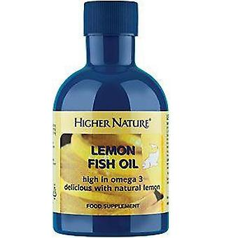 Higher Nature Lemon Fish Oil, 200ml