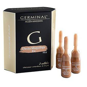Isdin Germinal Effect Makeup 3Ampollas (Beauty , Facial , Flash products)