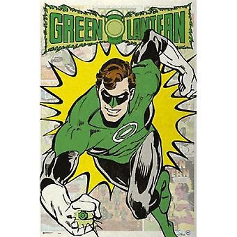 Green Lantern Poster Poster Print