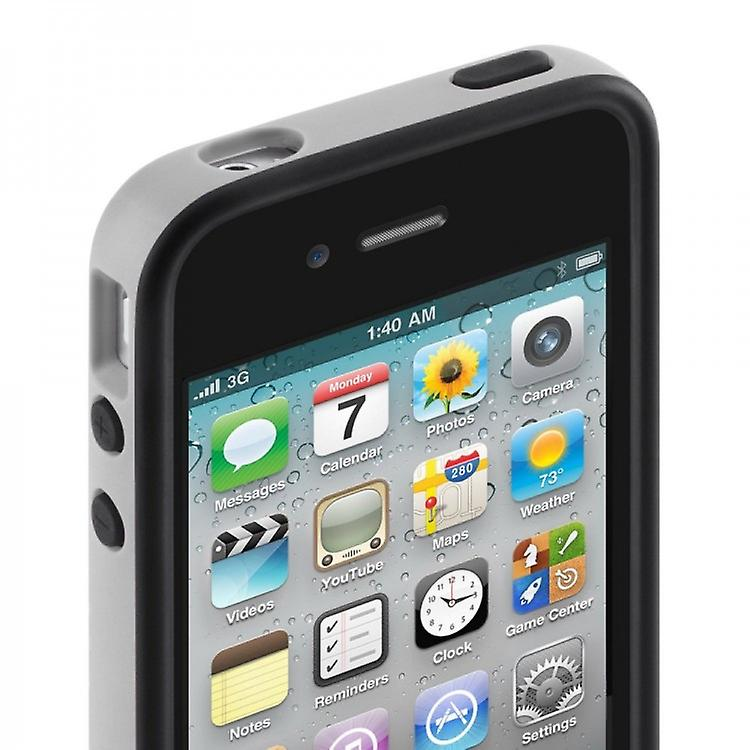 Belkin Hard Cover Case Essential 031 for iPhone 4 4S Black / Grey