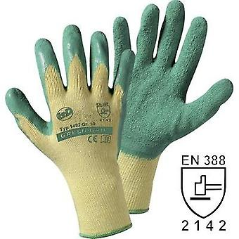 Leipold + Döhle 1492SB Green Grip glove Knit glove with Latex coating Size 9