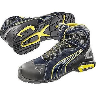 Safety work boots S1P Size: 39 Black, Blue, Yellow PUMA Safety Metro Protect 632230 1 pair