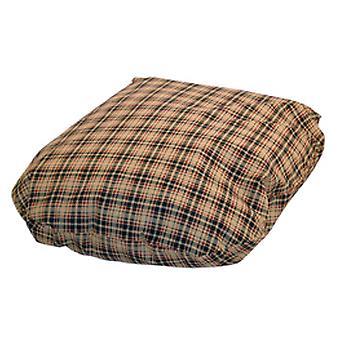 Klassiske kontrol creme Fibre seng dække størrelse 5 101x142cm