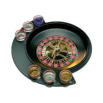 Roulette 6 Glass Lucky Shot Drinking Game for Dinner Party Glass Included
