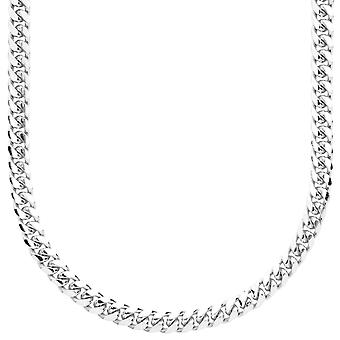Sterling 925 Silver curb chain - MIAMI CUBAN 5 mm