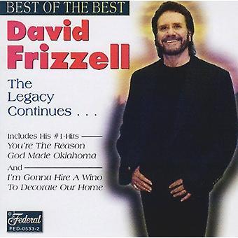 David Frizzell - bedste af det bedste [CD] USA import
