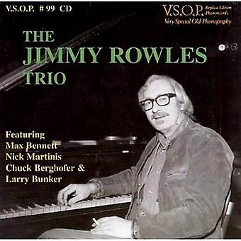 Jimmy Rowles Trio - Our Delight [CD] USA import