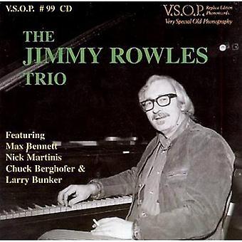 Jimmy Rowles Trio - vores glæde [CD] USA import