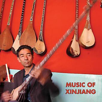 Forskellige kunstner - musik i Xinjiang: kasakhiske & Uigurisk musik [Vinyl] USA import