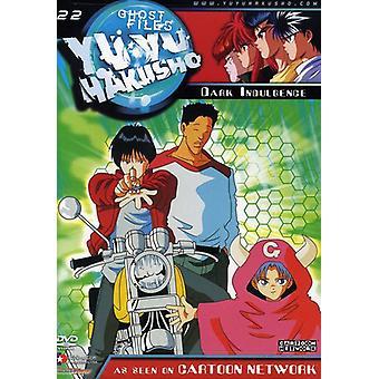 Yu Yu Hakusho - Yu Yu Hakusho, Vol. 22: Mørke overbærenhed [DVD] USA import