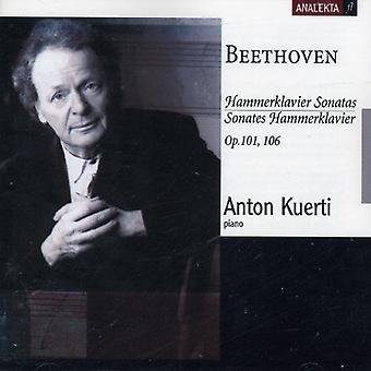 Larsen Beethoven - Beethoven: Hammerklavier sonater, op. 101, 106 [CD] USA import