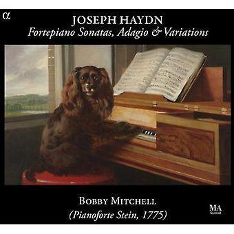 Haydn / Mitchell - Fortepiano sønner Adagio & variationer [CD] USA import