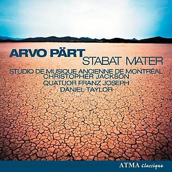 A. del - Arvo P Rt: Stabat Mater [CD] USA import