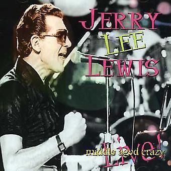 Jerry Lee Lewis - midterste alderen Crazy [CD] USA import