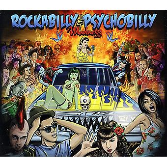 Rockabilly & Psychobilly galskab - Rockabilly & Psychobilly vanvid [CD] USA import