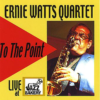 Ernie Watts - til det punkt-Live på Jazz bageri [CD] USA importen