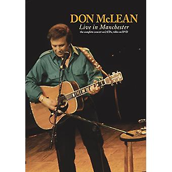 Don McLean - Live på Manchester [DVD] USA import
