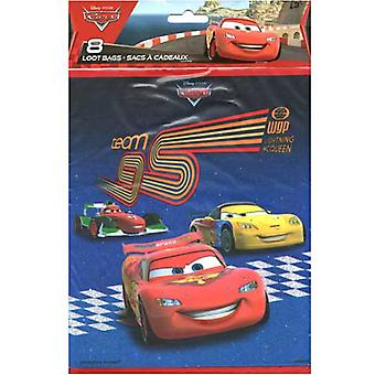 Disney Pixar Cars 2 Loot Bags [8 per pack]