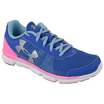 UA Micro G Speed Swift K 1266305-400 Kids running shoes