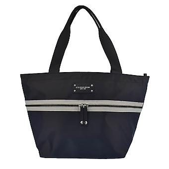 U.S. POLO ASSN. Handbag with large front zipper pocket and handles 25.5-42x16x 25.5 cm