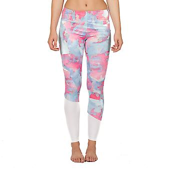 Damer leggings fitness gym sports pants pasteller
