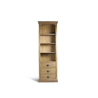 Direct Home Living Lisbon Collection Large Premium Bookcase - Elm
