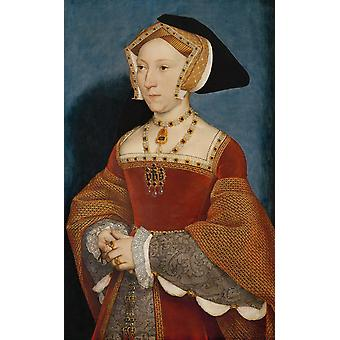 Hans The Younger - Jane Seymour Queen of England Poster Print Giclee