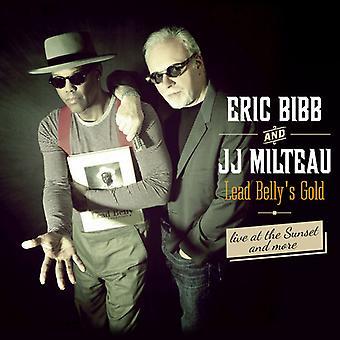 Eric Bibb og Jean-Jacques Milteau - føre Bellys guld [CD] USA importerer