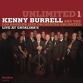 Kenny Burrell - ubegrænset 1 [CD] USA import