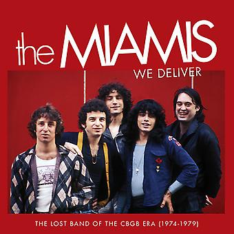 Miamis - vi levere: The Lost Band af Cbgb æra (1974) [CD] USA importerer