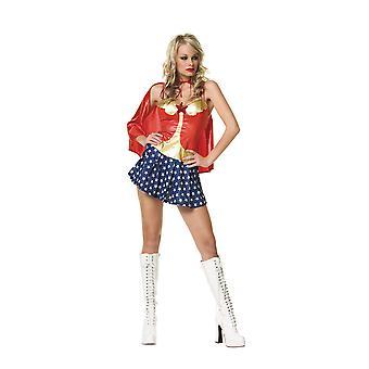 Eroe ragazza Wonder Woman Comic Con donne Costume da super eroe più