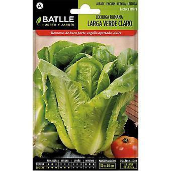 Batlle Light Green Roman Lettuce (Garden , Gardening , Seeds)