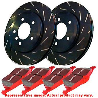 EBC Brake Kit - S4 Redstuff and USR rotors S4KF1077 Fits:ACURA  2004 - 2006 TL