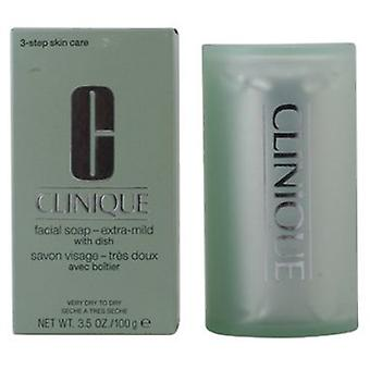 Clinique Facial Soap Extra Mild 100g (Cosmetics , Facial , Facial cleansers)