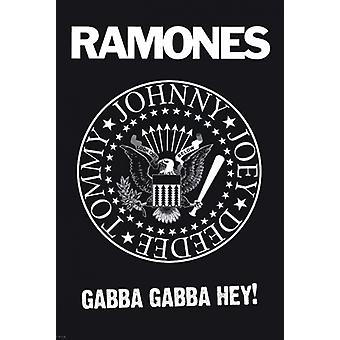 The Ramones - Logo Poster Poster Print