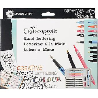 Manuscript Callicreative Hand Lettering Set-    MC170LET