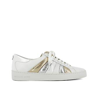 Michael by Michael Kors women's 43R7CNFS2L751 White leather of sneakers