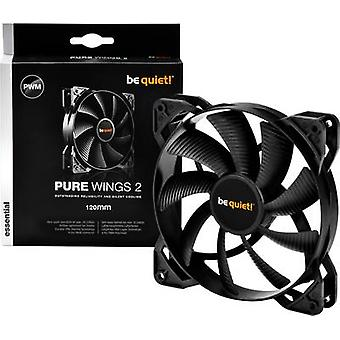 PC fan BeQuiet Pure Wings 2 120 mm PWM Black (W x H x D) 120 x 1