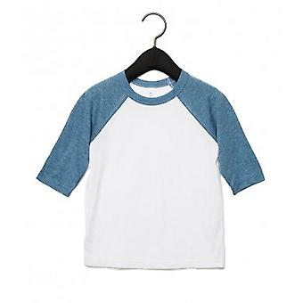 Bella + Canvas Toddler 3/4 Sleeve Baseball T-Shirt