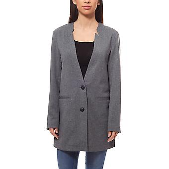ADPT. Jam ladies gray Blazer with a simple look for the perfect style