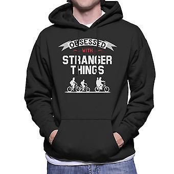 Obsessed With Stranger Things Men's Hooded Sweatshirt
