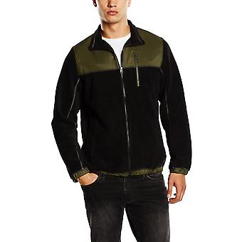 Timberland Mens Malden River Full Zip Fleece Jacket Black